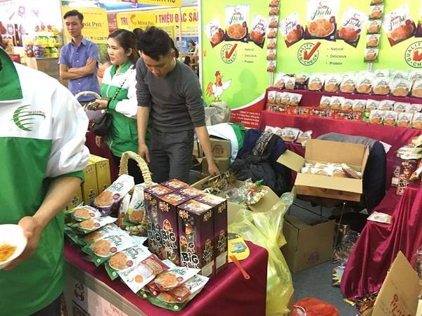 Khô gà xé Pichi chinh phục thị trường phân phối