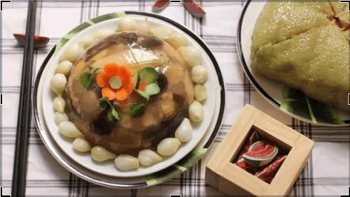 Thịt gà nấu đông đậm đà hương vị tết vạn người mê