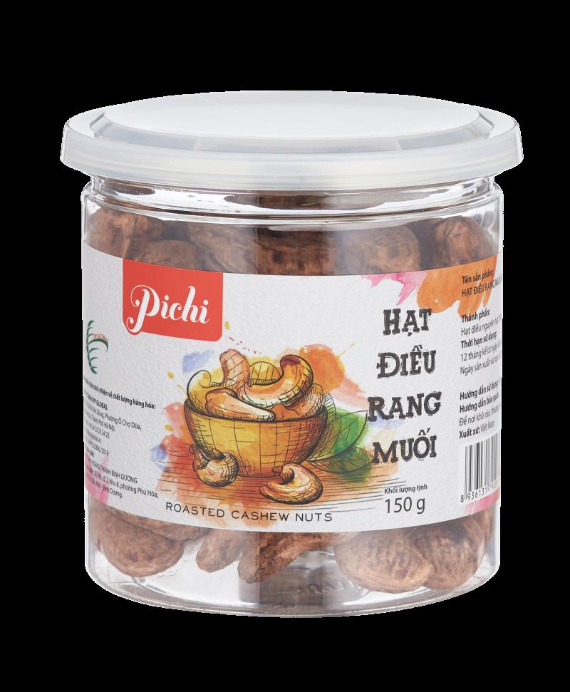 Pichi hạt điều rang muối 150g